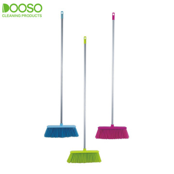 Extra Long Iron Pole Cleaning Broom DS-785