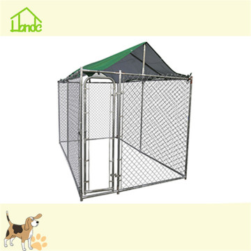 Factory direct large dog kennel cages with cover