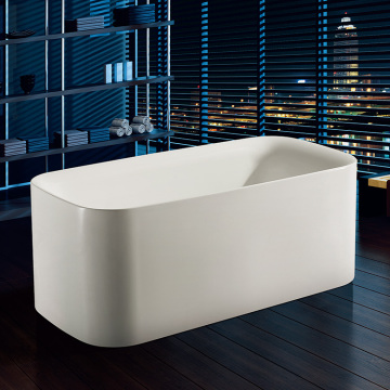 Exquisite Technical Acrylic Rectangle Soaking Square Bathtub