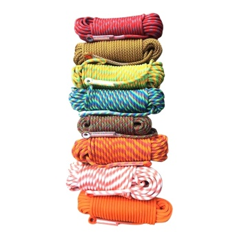 Wholesale twisted solid cotton climbing rope