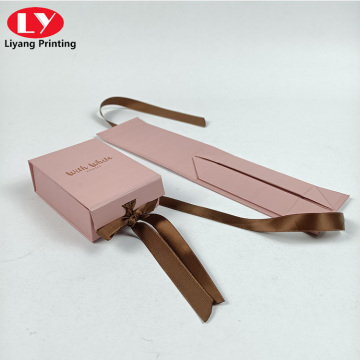 Special folding box for handmade accessories packaging box