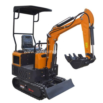 Construction Equipment Mini Excavators Steel Track Small Diggers Price