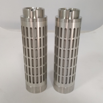 Washable Stainless Steel Notch Wire Filter Element