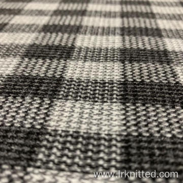Factory-Customized Checked Terry Fabric