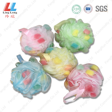 soft cleansing sponge bath ball