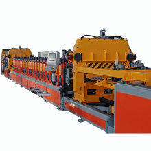 Hopper bottom grain steel silo machine