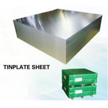 Tin coating plate in sheet