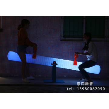 Outdoor Charging PE Rotational Molding  Seesaw Lights