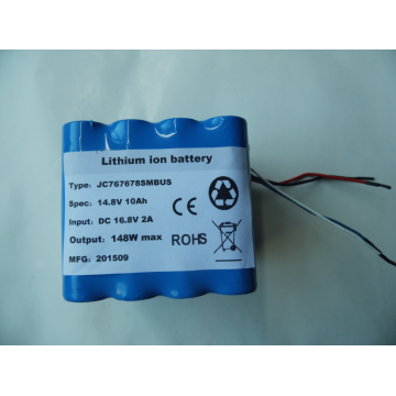 Li ion 14.8v lithium battery pack with smbus