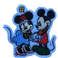 Animal Embroidery Sequins Fur Mickey Mouse Patch