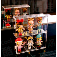 Customized acrylic toy product storage display box