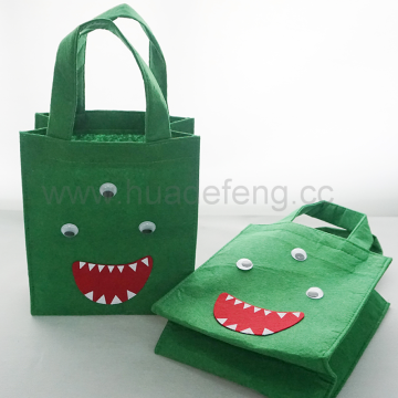 Halloween Non Woven Felt Custom Candy Jelly Bag