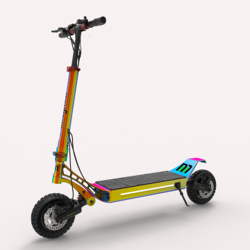 Custom Dual Motor Power Suspension Electric Scooter