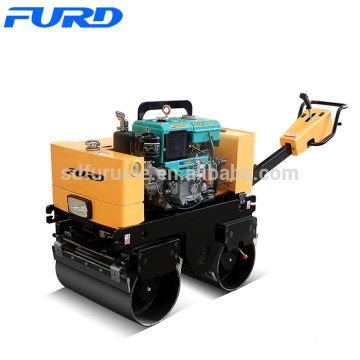 FURD 800Kg double drum roller compactor for soil compaction (FYL-800CS)