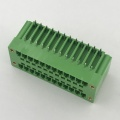 3.81mm pitch double layer plug-in PCB terminal block