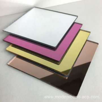 Mirror Exterior Paint ACP Panels