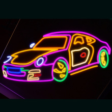 AUTO en BIKE LED NEON YLLUMINATED HANDTEKENING