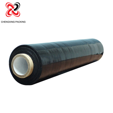High quality black stretch wrap lldpe jumbo roll