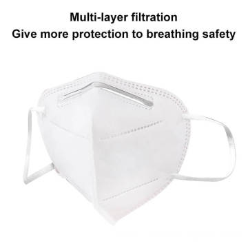Spandex Flat Shape KN95 Respirator Reusable Mask