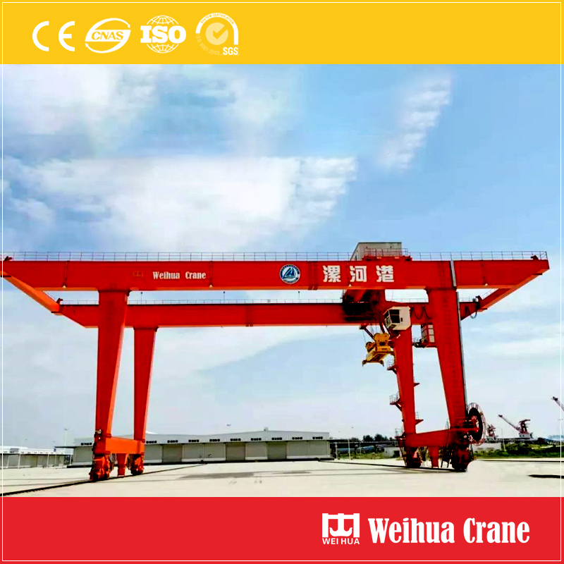Container Gantry Crane River Port