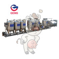 Complete Liquid Milk Yogurt Processing Line Equipments