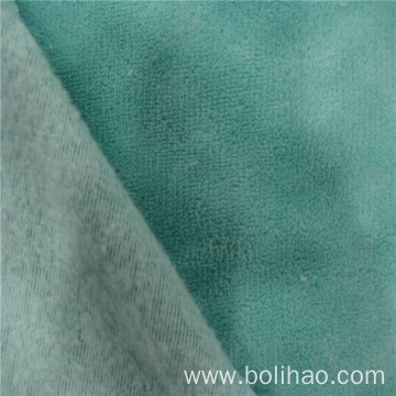 Solid Coral Velvet Fleece Fabric