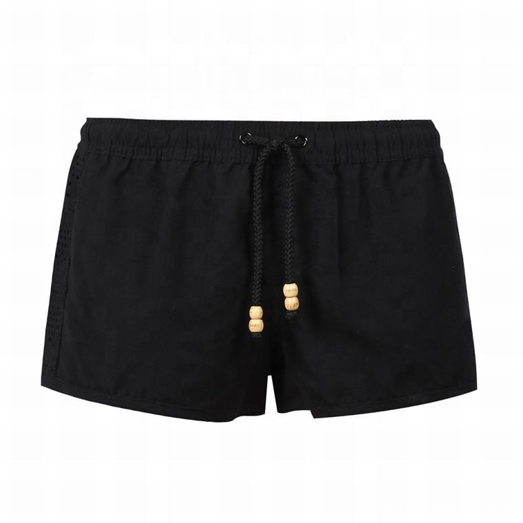 Summer Black Hot Ladies Surf Swim Shorts