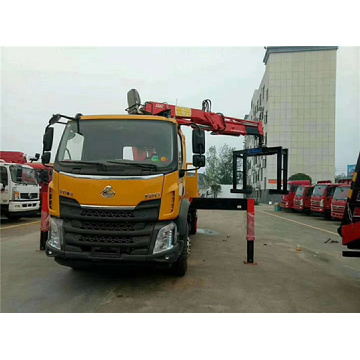 Dongfeng Truck Crane With 6-8Ton Crane