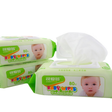 Organic Natural Cleansing Wet Wipes For Baby