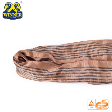 Heavy Duty Polyester WLL 6 Ton Polyester Round Sling