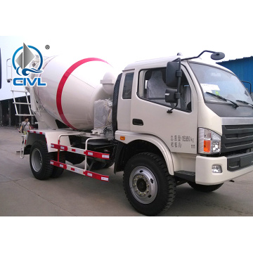 Small Volume 8m3 Howo Concrete Mixer Truck