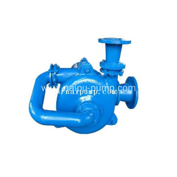 horizontal feeding slurry pump