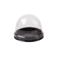 Disposable Round Food Grade PET Clear Cake Box