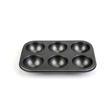 6-Cavity Non Stick Muffin Pan