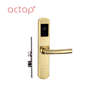 Actop hotel room key card system