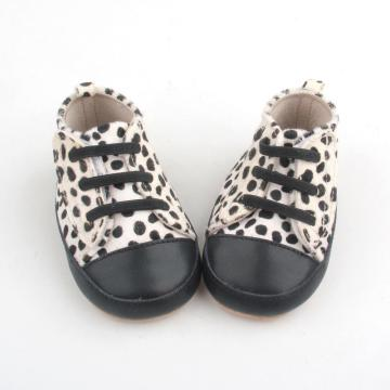 Mo Hair Leopard Unisex First Walkers Casual Shoes