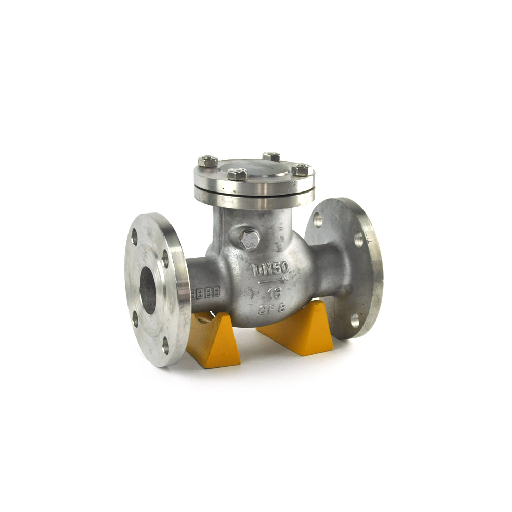 double disc wafer type pipe check valve with CE certificate and low price