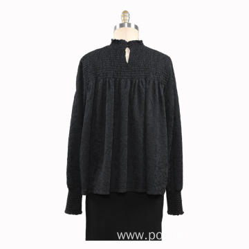 Women Knitted Turtleneck Pullovers Sweater