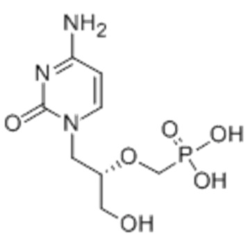 Phosphonic acid,P-[[(1S)-2-(4-amino-2-oxo-1(2H)-pyrimidinyl)-1-(hydroxymethyl)ethoxy]methyl]- CAS 113852-37-2