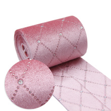David accessories Velvet Layering Cloth Ribbons Fabric (5Y Discontinuous)Bow-knot Crafts Home Packing Gift DIY,5Yc11723