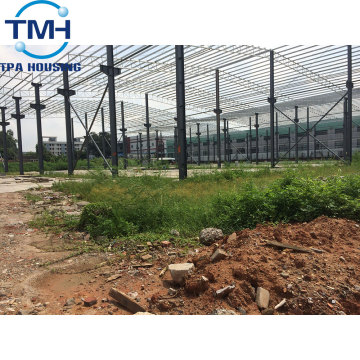 prefabricated steel structure building warehouse