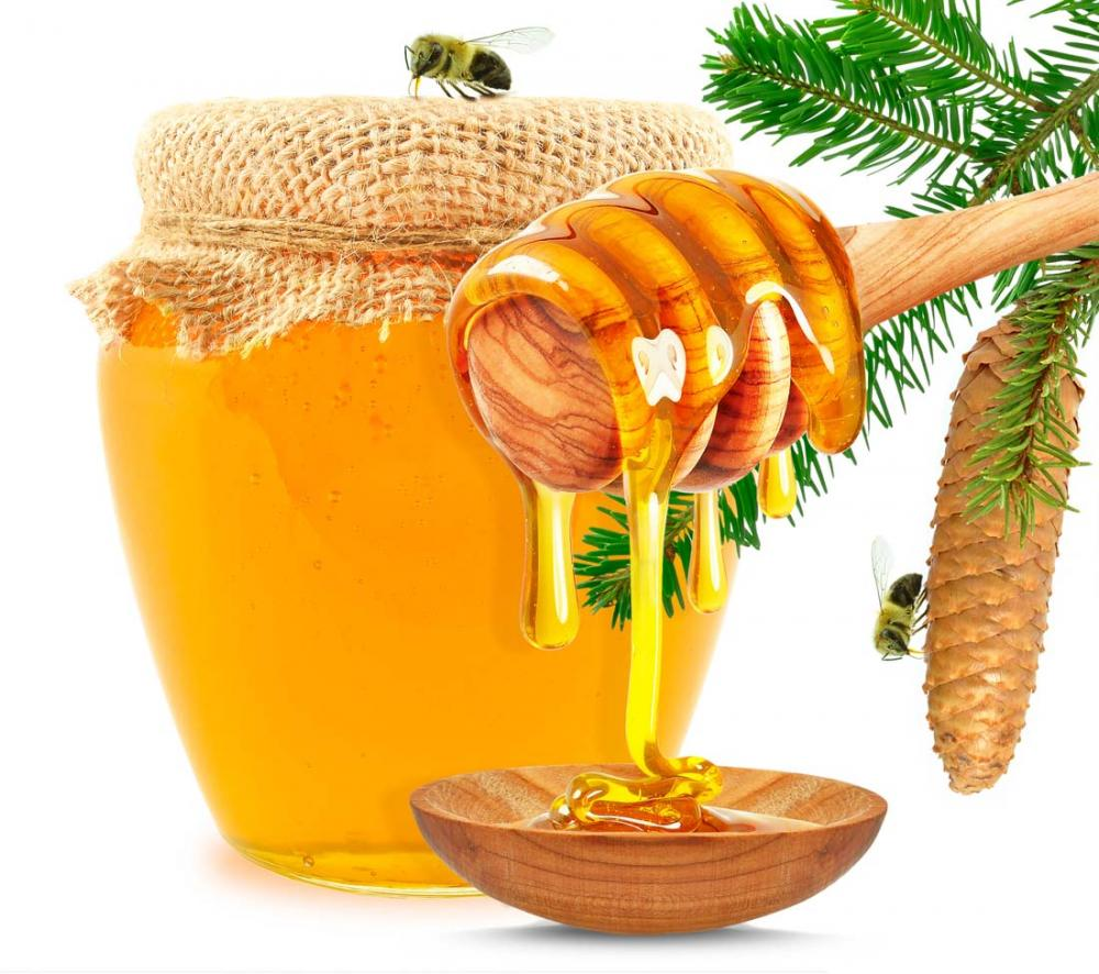 Golden yellow pure rape honey bulk sale