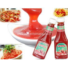 Red Color and Solid Form Tomato paste