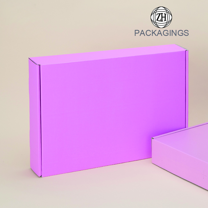Cheap pink mailer box for clothes
