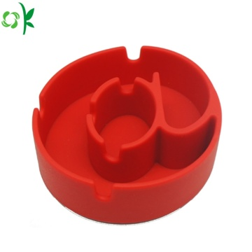 FDA Fashion Silicone Ashtray for Man