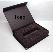 Luxury Black USB Stick Presentation Box With Logo