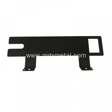 Custom Black Powder Coating Steel Visor Mounting Brackets