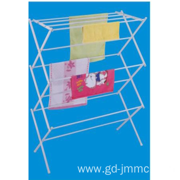 X-Frame Metal Towel Stand