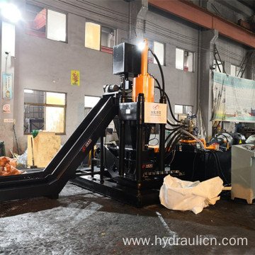 Hydraulic Metal Briquette Machine For Aluminum Chips