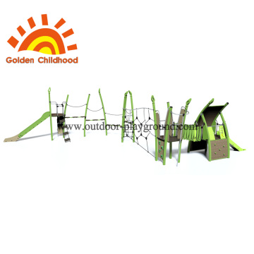 Park Outdoor Playground Equipment Net For Children